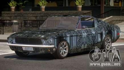 1968 Ford Mustang Tuned PJ4 para GTA 4