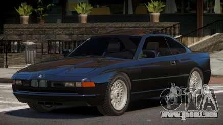 1993 BMW 850i TR para GTA 4
