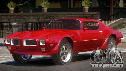 Pontiac Firebird V1.2 para GTA 4