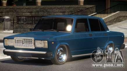 VAZ 2107 ST Tuned para GTA 4