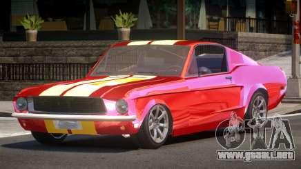 1968 Ford Mustang Tuned para GTA 4