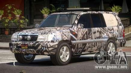 Toyota Land Cruiser Rally Cross PJ1 para GTA 4