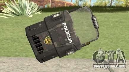 Police Shield para GTA San Andreas