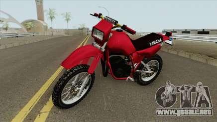 Yamaha DT 180 HQ para GTA San Andreas