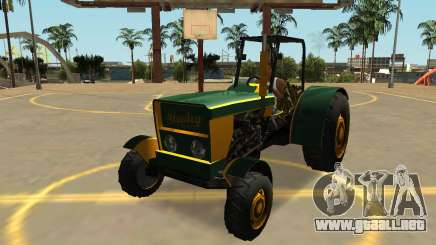 Stanley Tractor con Insignias y Extras para GTA San Andreas