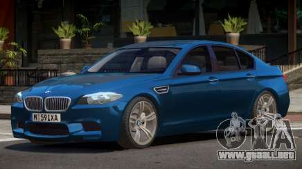 BMW M5 F10 RT para GTA 4