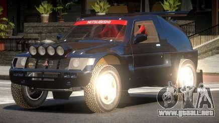 Mitsubishi Pajero Rally Sport para GTA 4