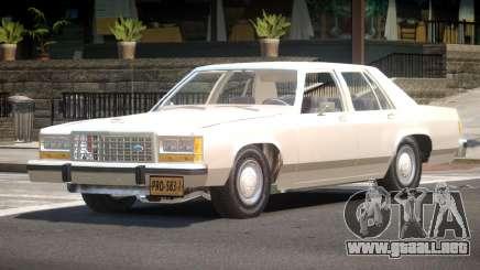 Ford LTD Crown Victoria V1.0 para GTA 4