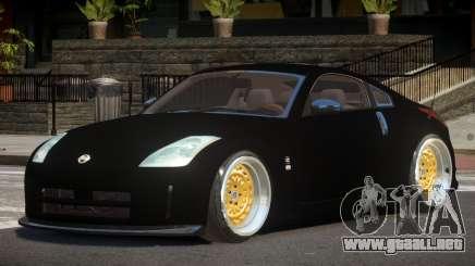 Nissan 350Z LT para GTA 4