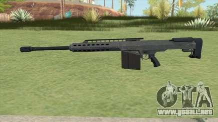 Heavy Sniper GTA V (LSPD) V2 para GTA San Andreas