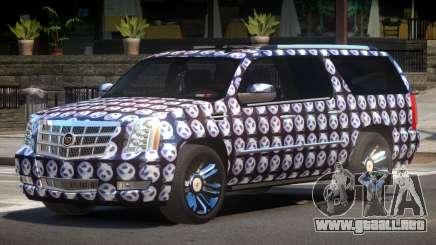 Cadillac Escalade Platinum PJ5 para GTA 4