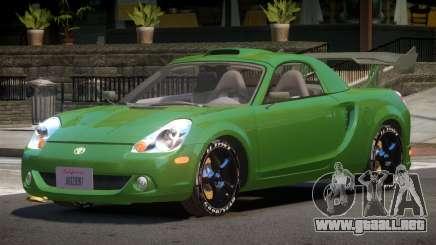 Toyota MRS2 Spyder para GTA 4