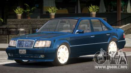 Mercedes Benz W124 Edit para GTA 4