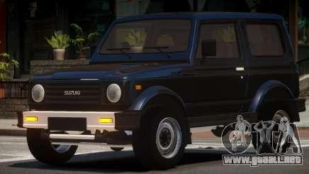 Suzuki Samurai ST para GTA 4
