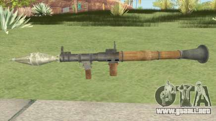 RPG-7 (COD 4: MW Edition) para GTA San Andreas