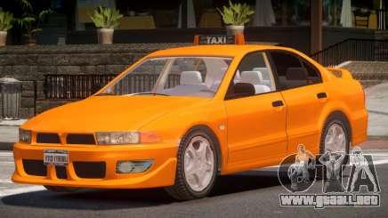 Mitsubishi Galant Taxi V1.0 para GTA 4