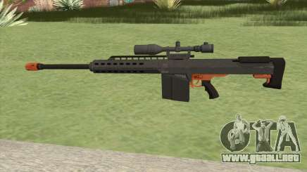 Heavy Sniper GTA V (Orange) V1 para GTA San Andreas