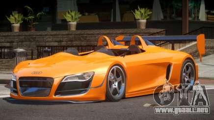 Audi R8 GT Roadster para GTA 4