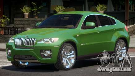 BMW X6 Edit V1.0 para GTA 4