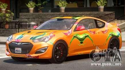 Hyundai Genesis CV PJ1 para GTA 4