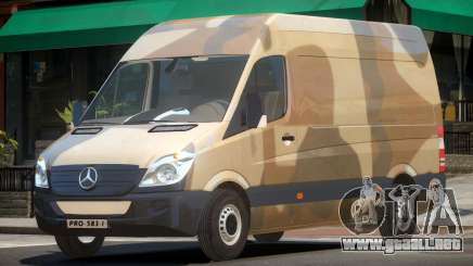 Mercedes-Benz Sprinter V1.0 PJ1 para GTA 4