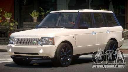 Range Rover Supercharged RS para GTA 4