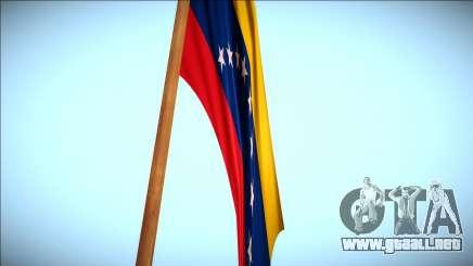 Bandera Venezuela en monte Chiliad Remasterizada para GTA San Andreas