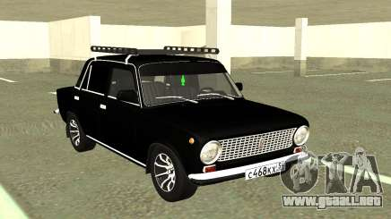 VAZ 2101 Granja Negro para GTA San Andreas