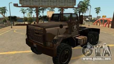 MTL Cuartel Semi Sa de Estilo para GTA San Andreas