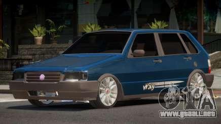 Fiat Uno V1.0 para GTA 4