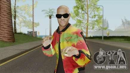 Chris Brown HQ para GTA San Andreas