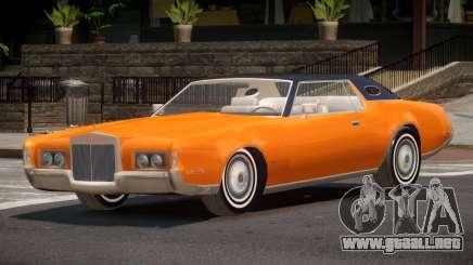 1975 Lincoln Continental V1.0 para GTA 4