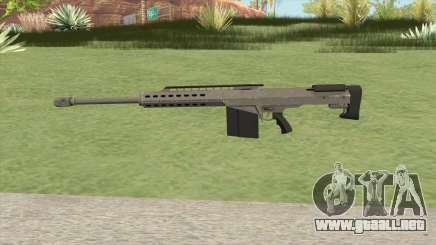 Heavy Sniper GTA V (Platinum) V2 para GTA San Andreas
