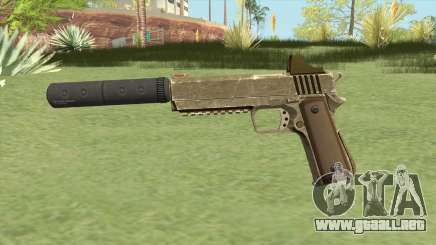 Heavy Pistol GTA V (Army) Suppressor V1 para GTA San Andreas