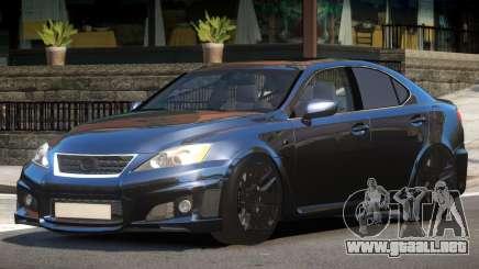 Lexus IS-F Transit para GTA 4