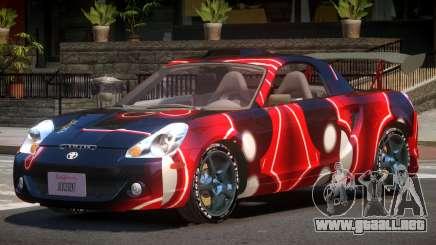 Toyota MRS2 Spyder PJ2 para GTA 4