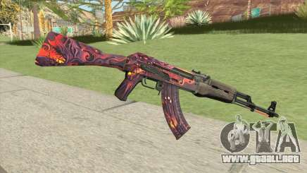 AK-47 (Phantom Disruptor) para GTA San Andreas