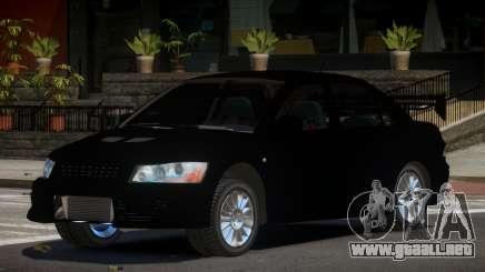 Mitsubishi Evo IX Auro para GTA 4