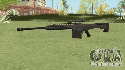 Heavy Sniper GTA V (Black) V3 para GTA San Andreas
