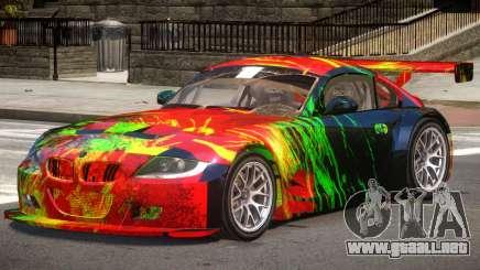 BMW Z4M GT Sport PJ1 para GTA 4