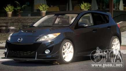 Mazda 3 S-Edit para GTA 4