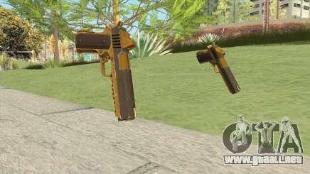 Heavy Pistol GTA V (Gold) Base V1 para GTA San Andreas
