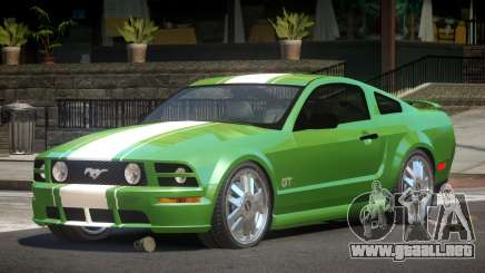Ford Mustang Edit para GTA 4