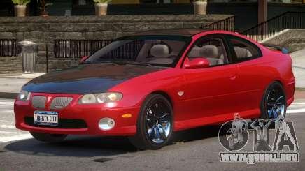 Pontiac GTO RS para GTA 4