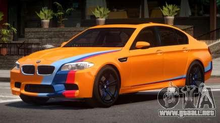 BMW M5 F10 LT PJ2 para GTA 4