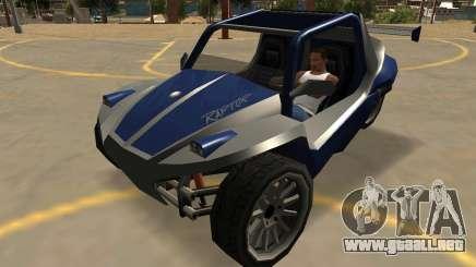 GTA V BF Raptor SA de Estilo para GTA San Andreas