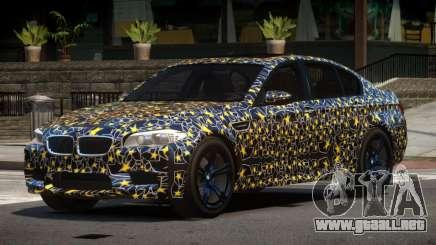 BMW M5 F10 LT PJ4 para GTA 4