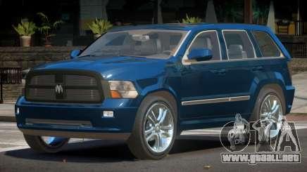 Dodge Durango ST para GTA 4