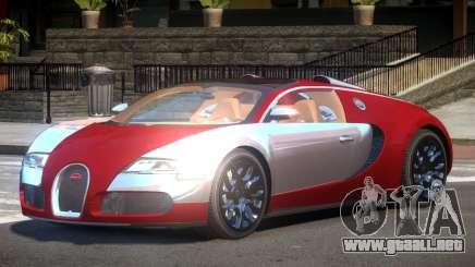 Bugatti Veyron GT-Sport para GTA 4