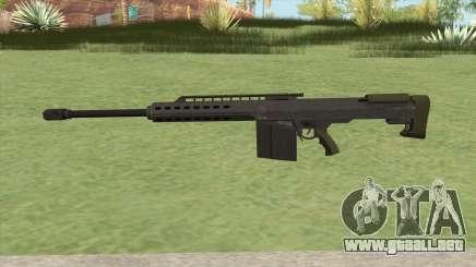 Heavy Sniper GTA V (Green) V2 para GTA San Andreas